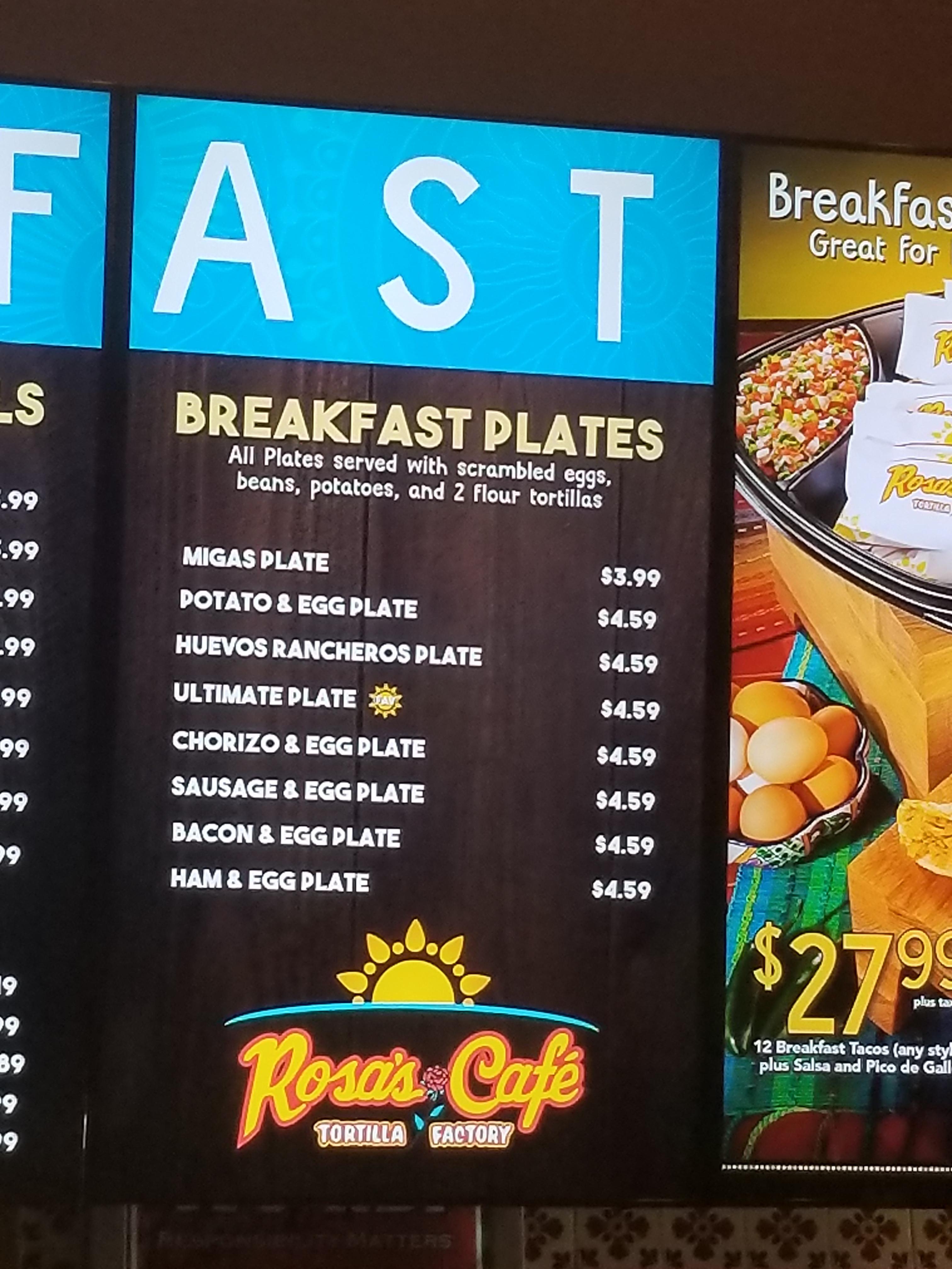Fast Food Breakfast Places