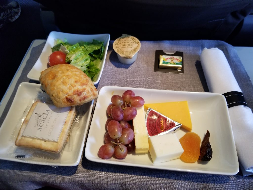 American Airlines domestic first class meal experience - Dine Drink Travel & American Airlines domestic first class meal experience - Dine Drink ...